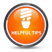 Lightbulb with Helpful Tips